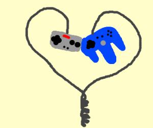 joysticks n64 and nintendo love