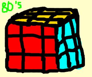 80's Rubik cube