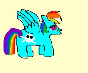 Rainbow dash just got a lot more badass.