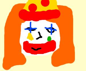 ginger clown