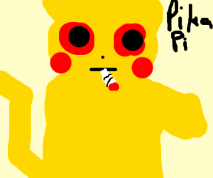 pikachu on drugs