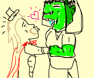 Thor marries Hulk
