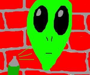 Alien Graffiti