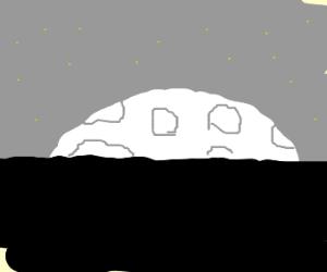 Mooning.