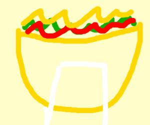 Big ass taco