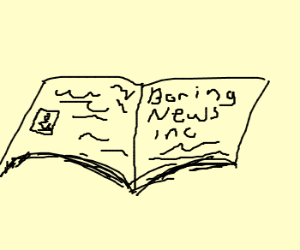news paper is boring?