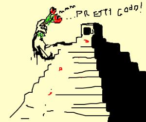 Pyramid thinks that roses taste good