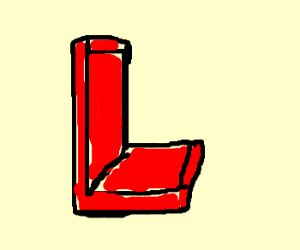 Red L blocks