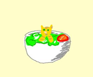 kitty salad