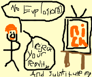 Adam Savage watches Nickelodeon.