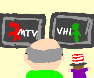 Mr. Garrison faces choice of MTV or VH1