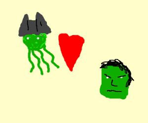 davy jones + hulk <3