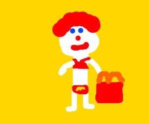 McDonalds bikini challenge