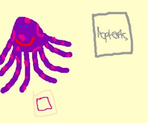 Purple Octopus gets long-awaited PopTart