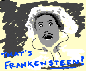 a young Dr Frankenstein