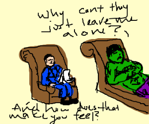 Hulk Goes To Therapy