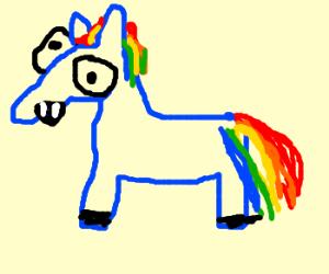 My Little Pony Vampre Edition Pony.