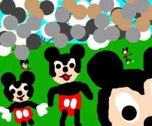 Mickey Mouse clones rampage