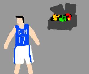Jeremy Lin abandons pokemon