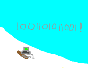 Binary computer learns to snowboard
