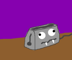 Wall-eyed Vampire Toaster