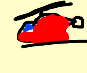 Newbie Drawceptioner draws helicopter