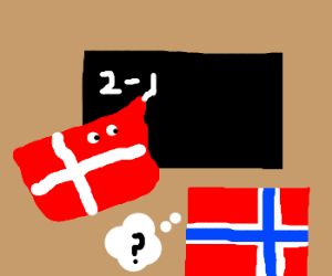 Denmark teaches norway math