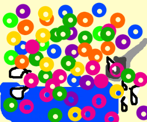 Froot Loops EXPLOSION!
