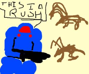 zergling rush