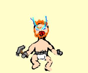 Thor as a Toddler