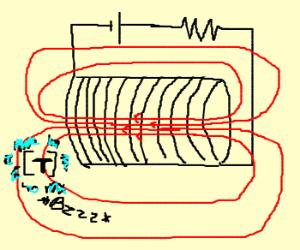 Coil electrocutes Tesla
