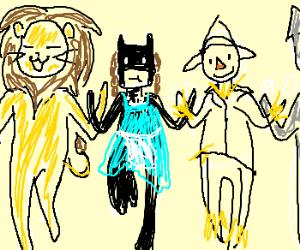 Batman enters the world of Oz
