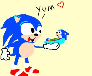 Sonic loves Sonic Hotdogs!