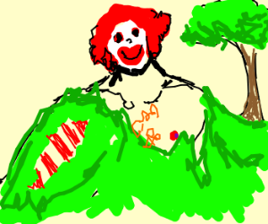 Ronald McDonald goes green