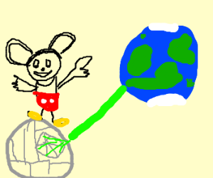 Mickey Mouse: destroyer of Earth