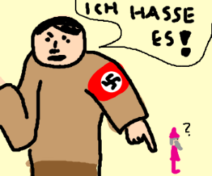 Hitler hates pink dwarfs