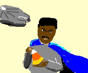Lando Calrissian discovers candy corn