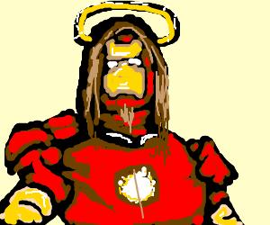 Iron man is jesus