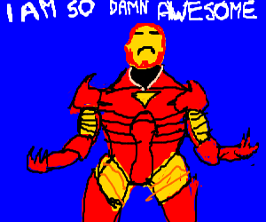 Iron man fond of himself as usual