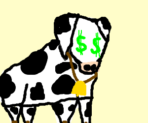 Cow will work $$