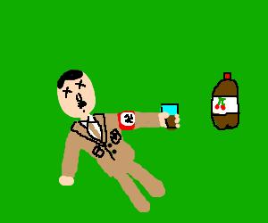 Hitler poisoned by cherry soda