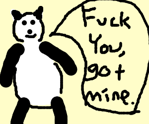 Pandas are the 99%