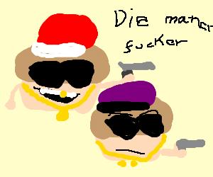 Gansta cupcakes/muffins war