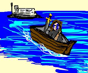 Braveheart escapes Alcatraz