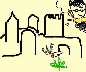 Hogwarts is doing weed trips about Harry