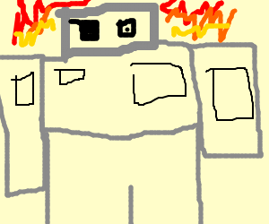 Robot Pirate for fire