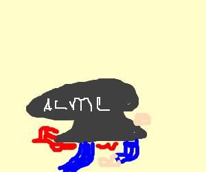 Acme anvil crushes man