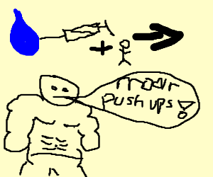 steroid tears make gym leader stronk