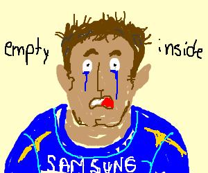 John Terry cries
