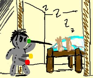 Voodoo doll gets his revenge